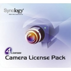 SYNOLOGY-Camera license pack for 4 v2.1
