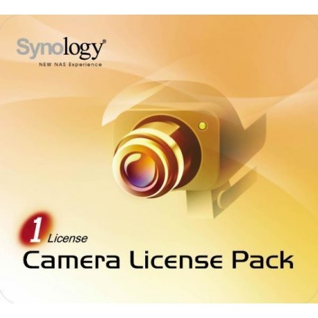 SYNOLOGY-Camera license pack for 1 v2.1